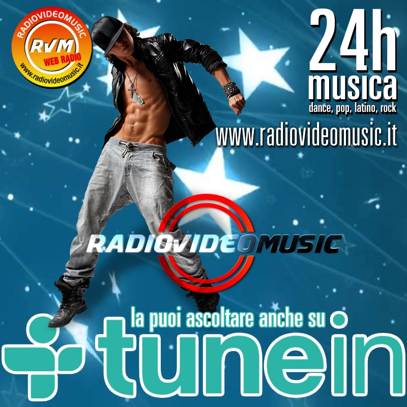 RADIO VIDEO MUSIC su TUNEIN