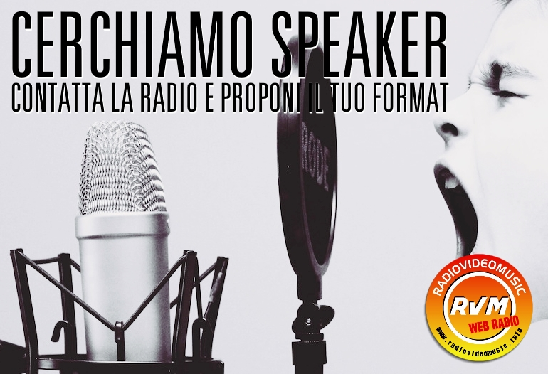 Promo Cerchiamo Speaker - 18-05-2017